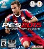 Pro Evolution Soccer 2015 cover