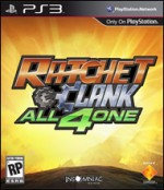 Ratchet & Clank:  All 4 One cover
