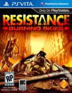 Resistance: Burning Skies cover