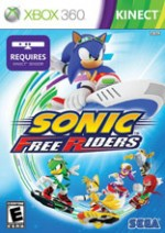 Sonic Free Riders cover