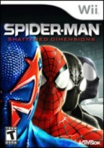 Spider-Man: Shattered Dimensions cover
