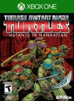 Teenage Mutant Ninja Turtles: Mutants in Manhattan cover