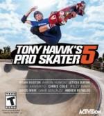 Tony Hawk's Pro Skater 5cover