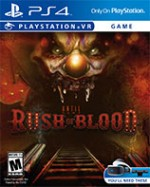 Until Dawn: Rush Of Blood cover