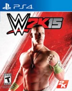 WWE 2K15cover