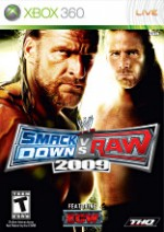 WWE Smackdown vs Raw 2009 cover