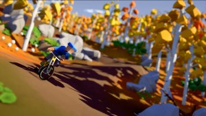 A Mountain Biking Game Designed For Speedrunners