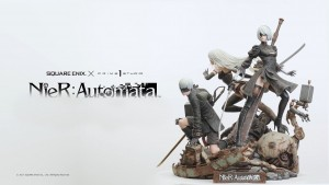 Gorgeous New Nier: Automata Statue Revealed