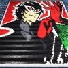 YouTuber Recreates Persona 5's Joker With Over 46,000 Dominoes