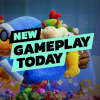 New Gameplay Today – Yoshi's Crafted World