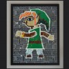Lego Sculptor Recreates Wall-Merged Link From A Link Between Worlds