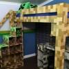 Minecraft Super-Fan Gets An 8-Bit Bedroom Makeover