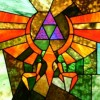 Video Game Stained Glass Art