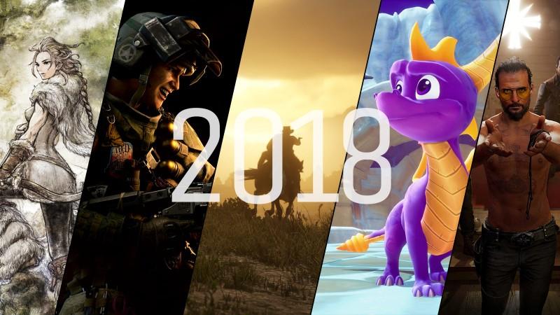 2018 Video Game Release Schedule - Game Informer