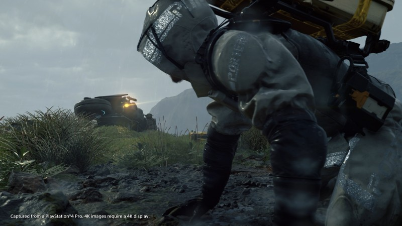 Kojima Admits That Death Stranding Is Slightly Behind Schedule