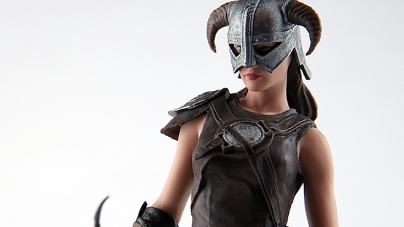 First Ever Statue Of Female Dragonborn From Skyrim