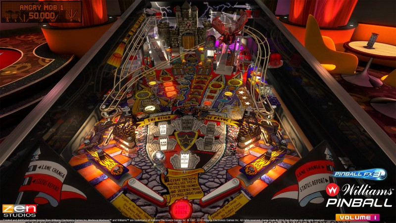Licensed Williams, Bally Tables Coming To Pinball FX3 - Game