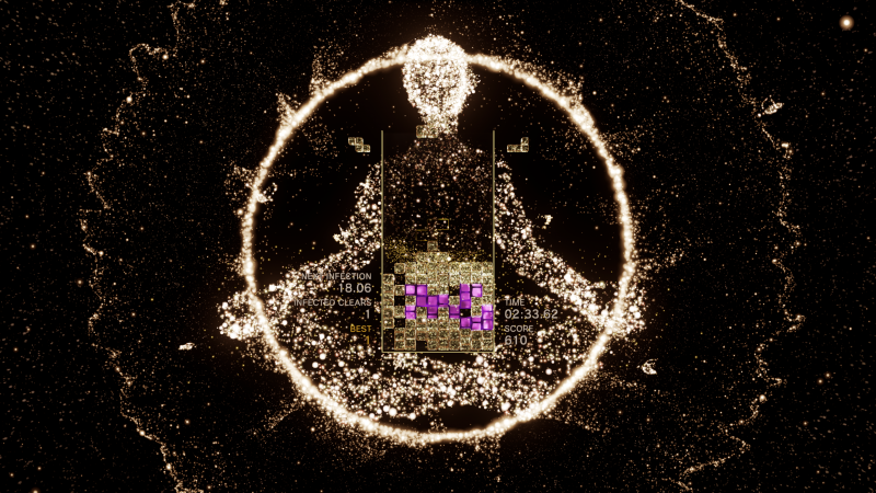 Tetris Effect Gets Bizarre But Fascinating Time-Limited Demo