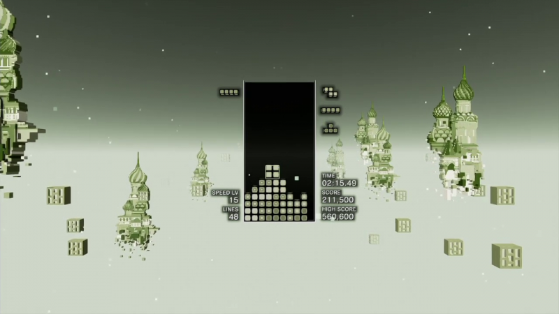 Fans Unlock Classic Tetris Game Boy Skin In Tetris Effect - Game
