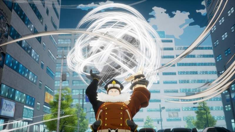 Gale Force, The Next DLC Character For My Hero One's Justice, Arrives Tomorrow