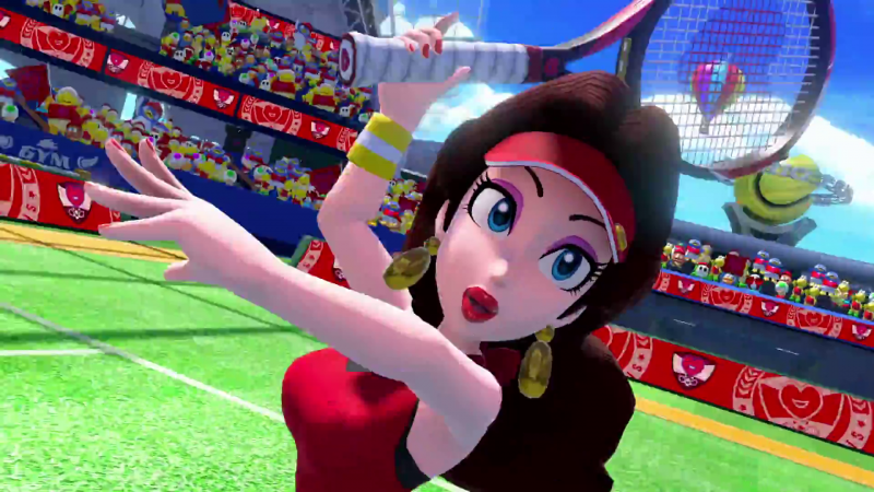 Pauline, Boom Boom, And Luma Join Mario Tennis Aces Early Next Year