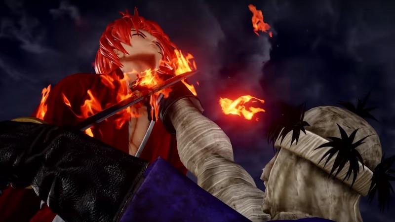 Himura Kenshin and Makoto Shishio Cross Swords In New Jump Force Trailer