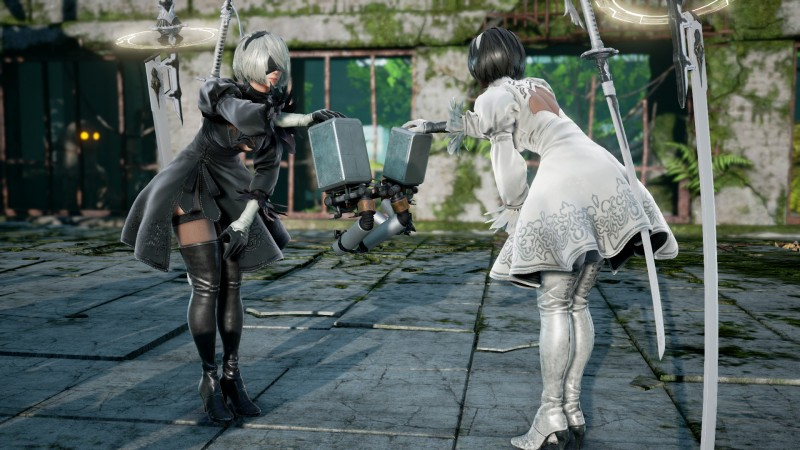 Nier: Automata's 2B Now Available In Soulcalibur VI - Game Informer