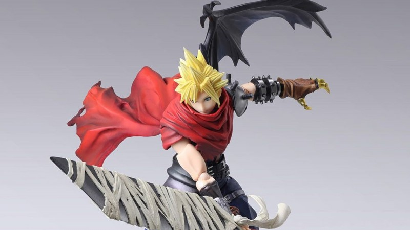 You Can Now Pre-Order This Amazing Cloud Strife Statue