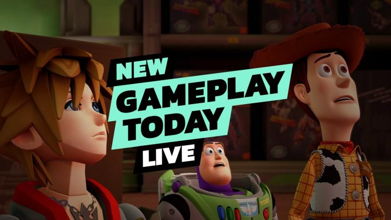 Kingdom Hearts III – New Gameplay Today Live