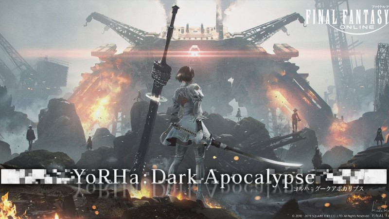 Final Fantasy XIV's Next Expansion Coming In July, Includes Nier