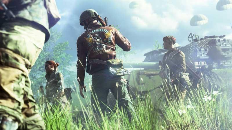 Battlefield V's Firestorm Cinematic Reveals The Tone Of Its Battle