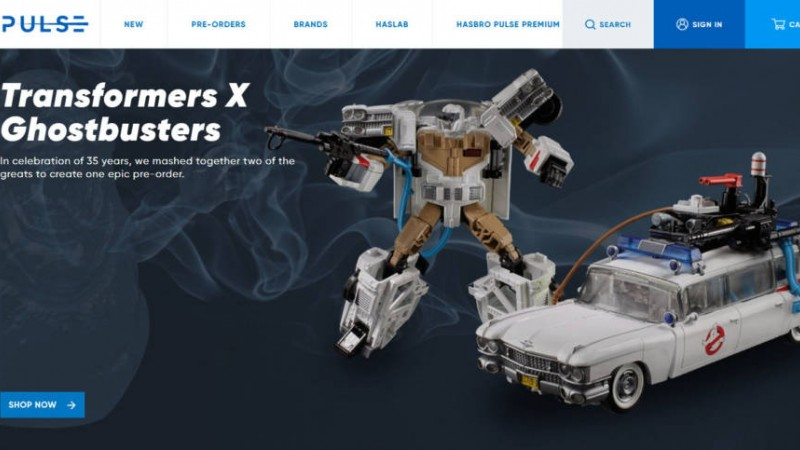 Ghostbusters Car Becomes A Transformer In New Hasbro Toy
