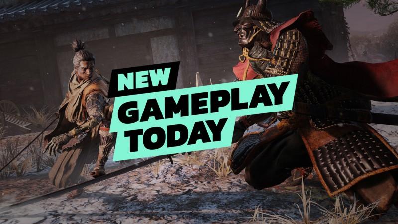 New Gameplay Today – Sekiro: Shadows Die Twice