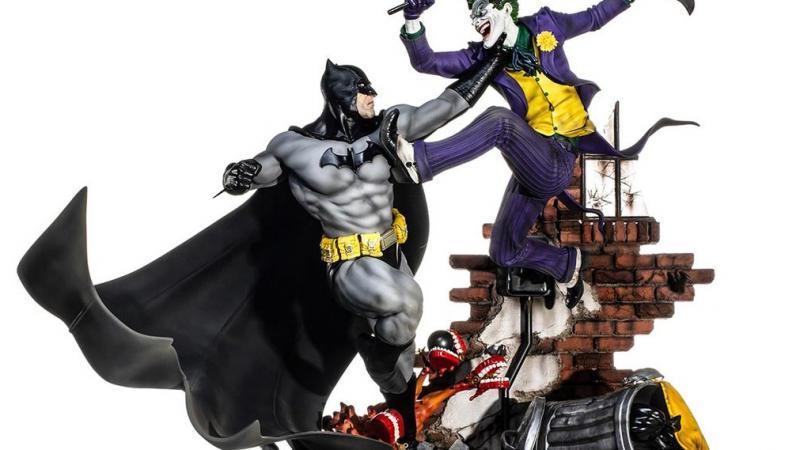 Awesome Batman Versus Joker Battle Diroama On The Way For $800