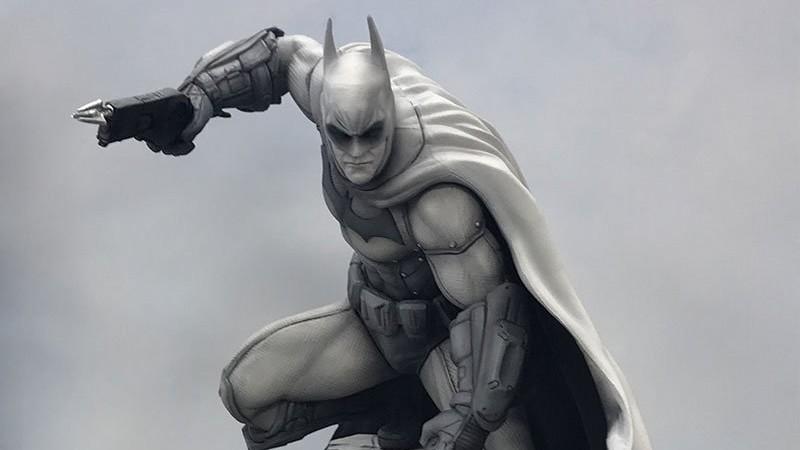 Batman's Arkham Asylum Design Is Back As A Black & White Statue