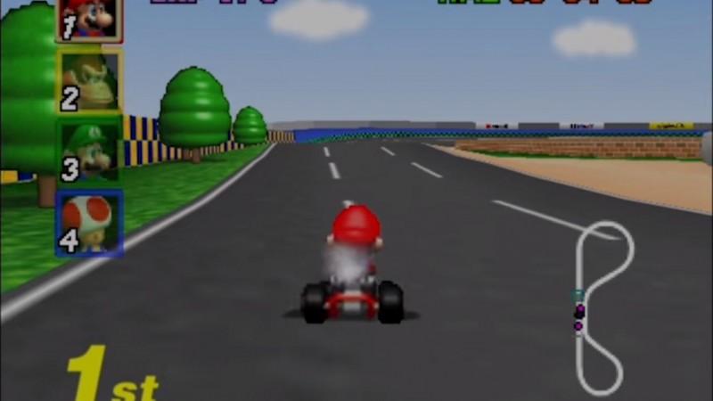Nintendo Used Some Pretty Cool Tricks To Get Mario Kart 64
