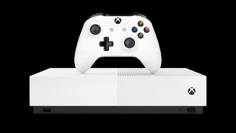 Microsoft Announces All-Digital Xbox One S