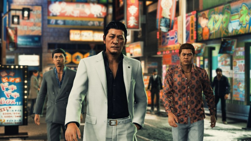 First Screens And Video For Judgment's New Actor For Hamura