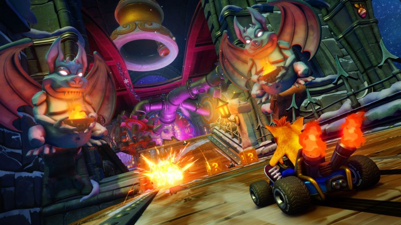 Crash Team Racing Shows Off Its Vehicle Customization Options - Game