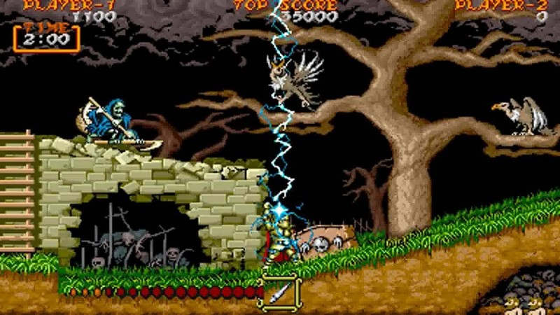 Golden Axe, Ghouls N' Ghosts, Street Fighter II, And More Games
