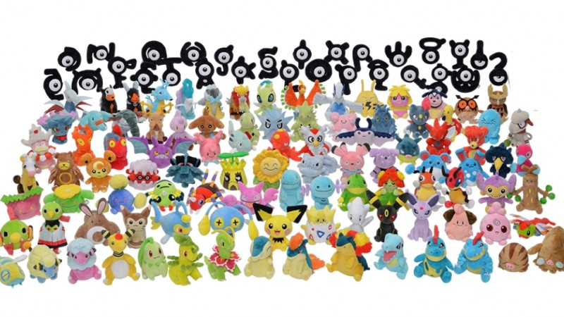 Every Johto Pokémon Is Getting Its Own Plushie - Game Informer