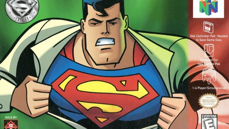 As Superman 64 Turns 20, We Dig Up Some Relics From The Past