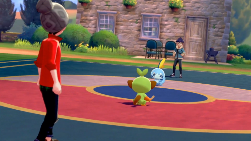 You Can Walk Your Pokemon From Sword And Shield Using The Poke Ball