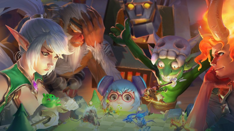 Tencent Mobile Auto Chess Game Chess Rush Out Today - Game