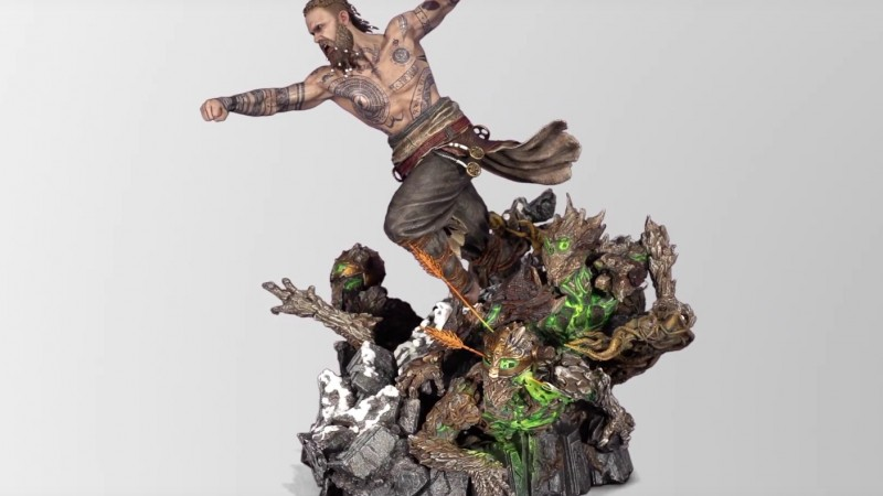 God Of War's Baldur To Be Immortalized In $1,200 Statue