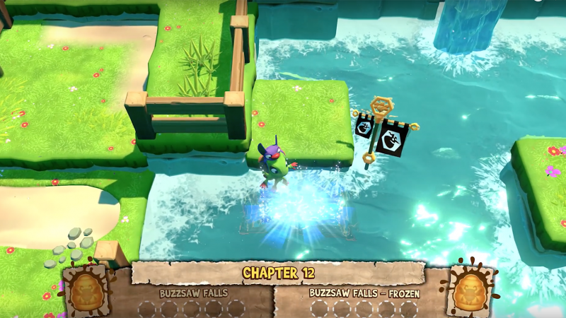 A Look At Yooka-Laylee and the Impossible Lair's Alternate Level States
