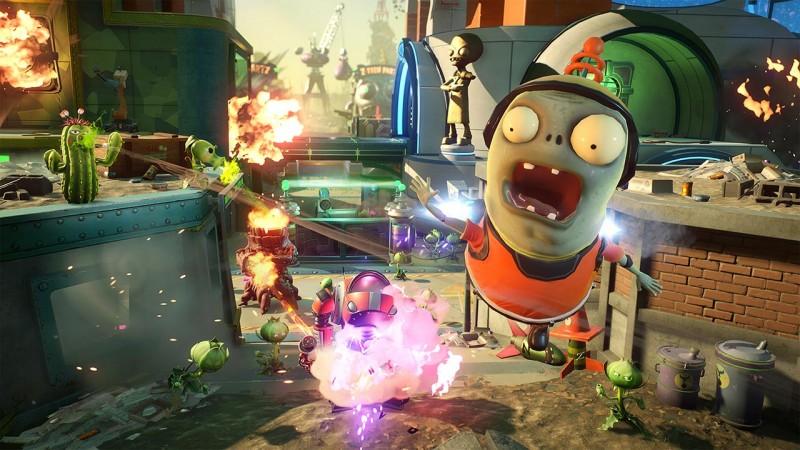 EA Files Plants Vs  Zombies: Battle For Neighborville