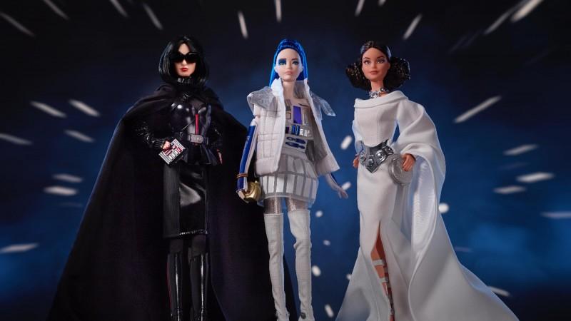 Mattel Introduces Star Wars Barbies, Including Barbie Vader