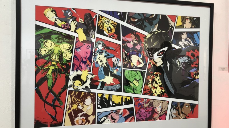 Your View Inside of Atlus' Amazing Art Exhibit Dedicated to Persona 5 and Catherine