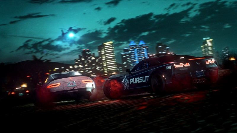 Need For Speed Heat's Police Chases Are Chaotic Thrill